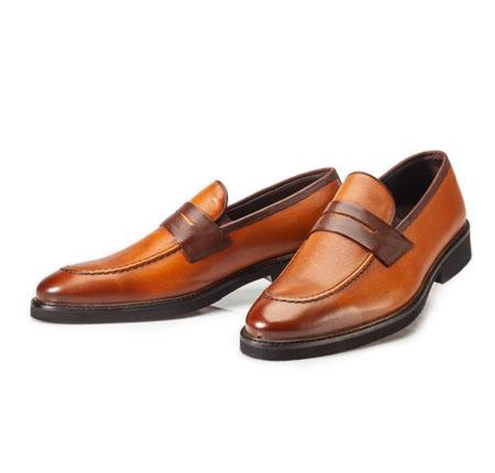 کفش مدل بارسلون عسلی
