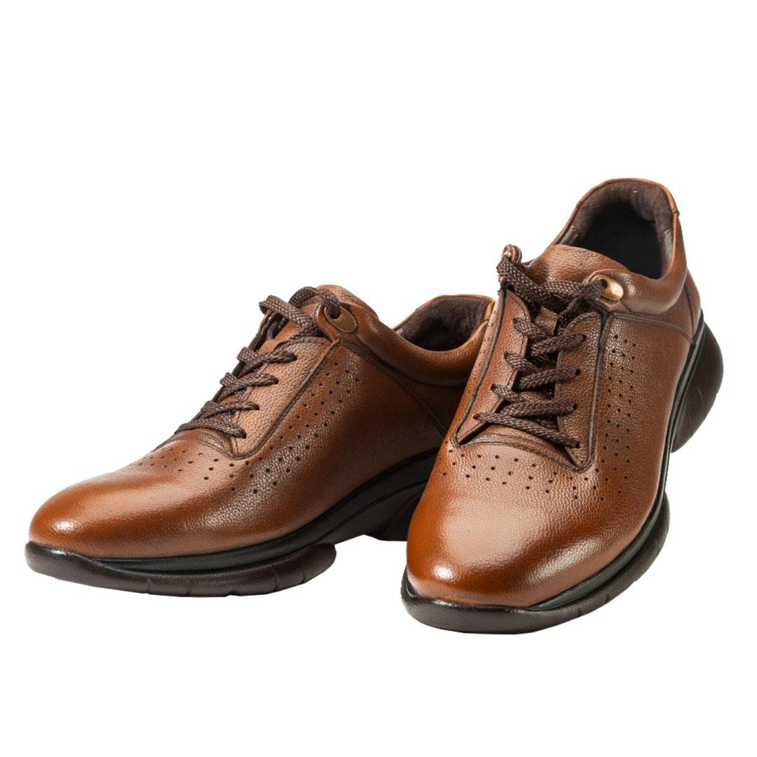 کفش مردانه اسپورت مدل ایدمان قهوه ای