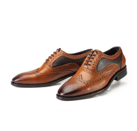 کفش هشت ترک برت عسلی