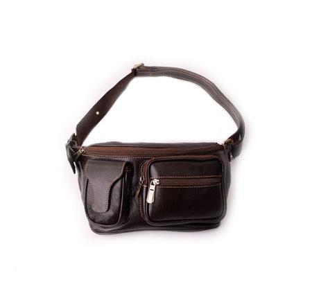 کیف کمری قهوه ای